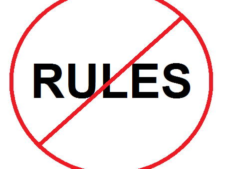 No Rules for Writing