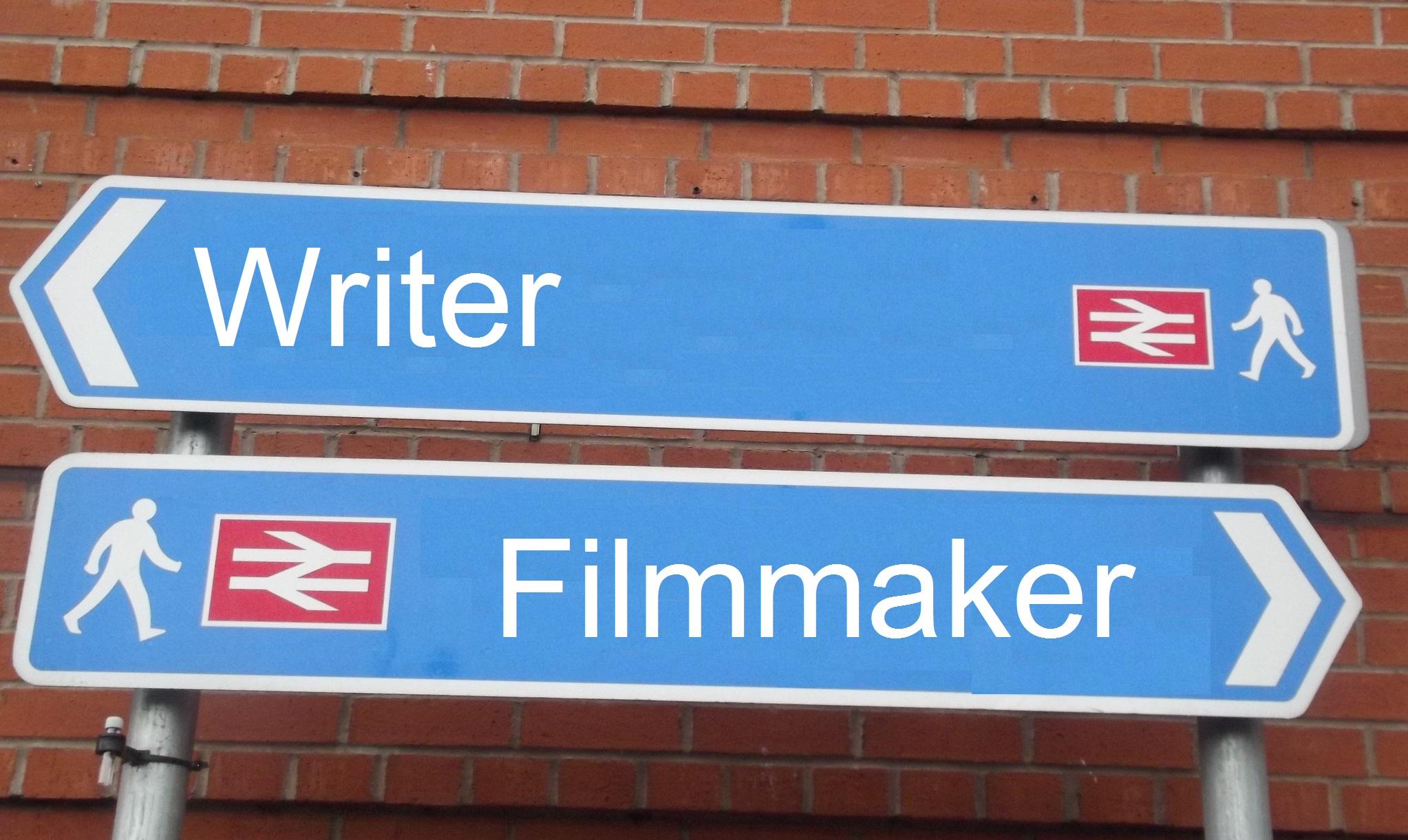 Writer vs Filmmaker
