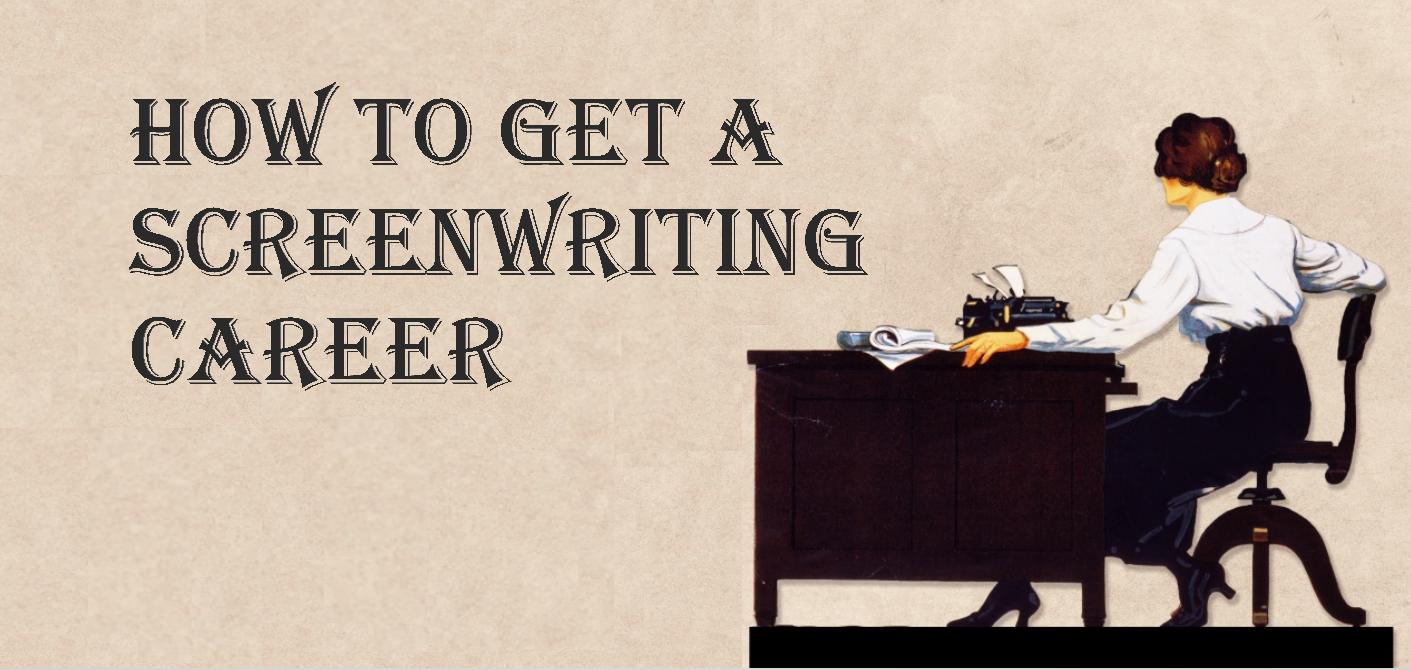 Screenwriting career
