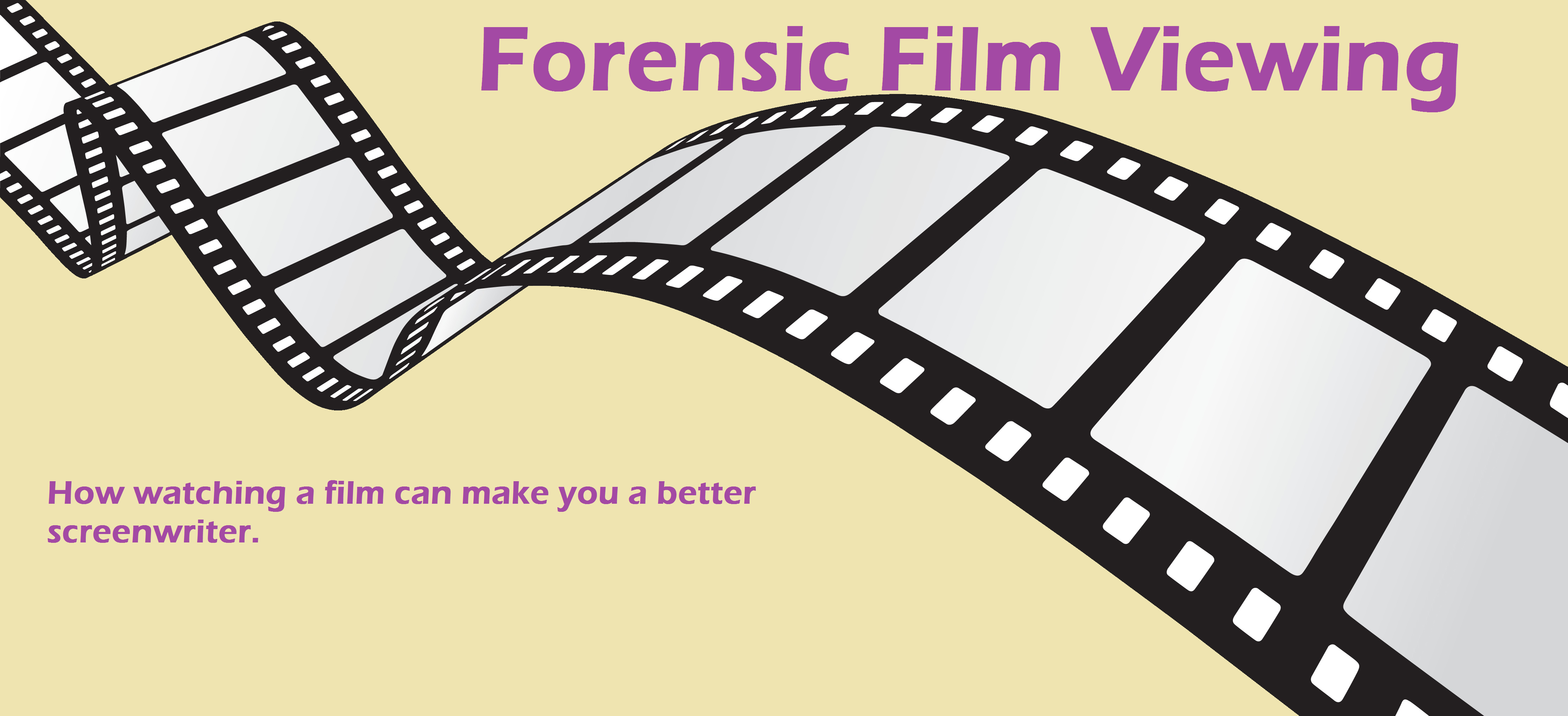 How to learn from watching forcensic film