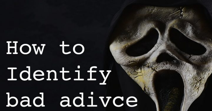 How it identify bad advice
